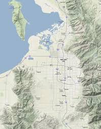 Salt Lake City Map Maps Direction And Satellite Images