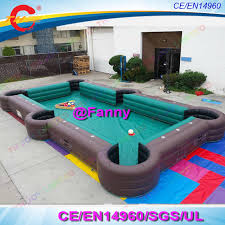 best quality pool tables best quality pvc billiard table inflatable snooker football pool