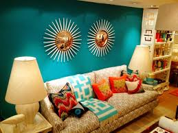 jonathan adler show room with benjamin moore surf blue paint