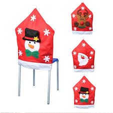 Snowman Chair Covers Diningroom Dining Room Chair Covers Foraschristmas Back