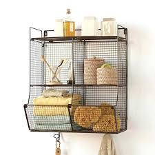 Hanging Bathroom Shelves Hang Baskets On Bathroom Wall Size Of Bathroom Shelves
