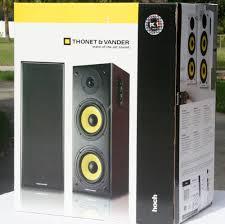 Bookshelf Speakers Wiki Thonet U0026 Vander Hoch Powered Bookshelf Speaker Review Audioholics