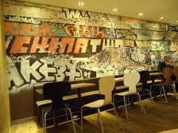 meaningfull graffiti art design for interior room jacqueline rees