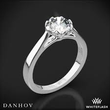 danhov engagement rings danhov cl140 classico solitaire engagement ring whiteflash 3811