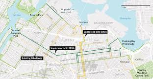 Queens Map Queens Bike Initiative