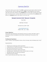 chef de partie en cuisine resume format for chef de partie best of chef de cuisine resume