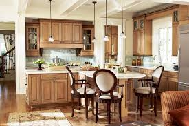 Cozy Kitchen Designs Furniture Cozy Kitchen Design With American Woodmark Cabinets