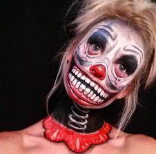 Creepy Clown Halloween Costumes 710 Halloween Carnevil Sinister Circus Night Circus