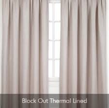 Thermal Curtain Lining Buy Ready Made Curtains U0026 Blinds Online Low Prices The Warehouse