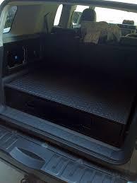 jeep tailgate storage new jeep accessories rear cargo drawer build toyota fj cruiser