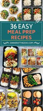 recette de cuisine de regime 36 easy meal prep recipes for breakfast lunch and dinner projects