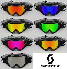 scott motocross gear goggle shop motocross mx goggle chrome mirror lens to fit scott