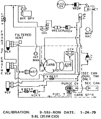1984 ford f 350 with a 351m vacuum diagram fixya