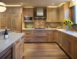 wood backsplash kitchen kitchen with wooden tile backsplash contemporary kitchen