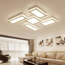 modern light fixtures for living room living room lighting modern light box led ceiling lights indoor diy creative iron led