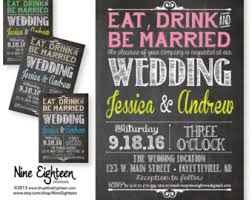 eat drink and be married invitations eat drink and be married wedding invitations eat drink and be