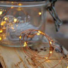 Battery Run Fairy Lights by Vintage Filament Light Bulb 40 Warm White Led Battery Fairy
