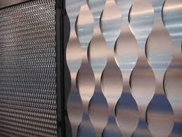 Interior Corrugated Metal Wall Panels Metal Perforated Wall Interior Panels Part Of Interior Design