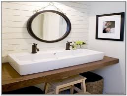 kohler double faucet trough sink sink and faucets home