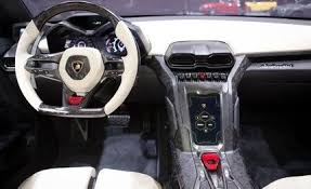 lamborghini estoque interior and used car reviews car and prices car and driver