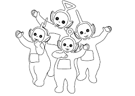 teletubbies coloring pages farainsabina