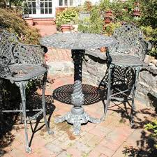 Wrought Iron Patio Bistro Set Patio Furniture Auction Outdoor And Garden Decor Auctions In