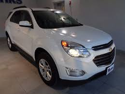 chevy equinox 2017 white 2017 used chevrolet equinox awd lt at banks chevrolet buick gmc