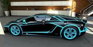 blue and black lamborghini matte black lamborghini with blue details cars