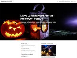 halloween city website web design archives grant austin
