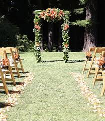 wedding arch gazebo tomobi floral wedding ceremony decoration gallery
