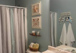 beach bathroom pictures black polished steel frame glass shower