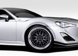 custom subaru brz wide body 2013 2016 scion fr s subaru brz duraflex zeus fender flares 8pc