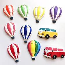 12pcs lot rural style retro resin coach air balloon