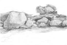 rock drawing tutorial by diane wright art drawing u0026 sketching