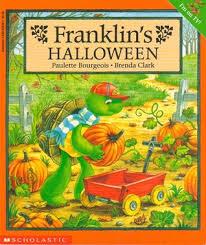 franklin u0027s halloween paulette bourgeois