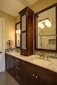 Double Vanity With Tower Splendid Shower Curtains Bathroom Transitional With Cherry