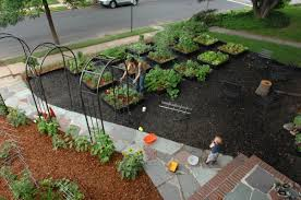 Vegetable Garden Designs For Small Yards by Gardenlab Edible Estates 3 Suburban New York City