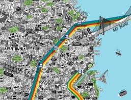 san francisco map it this illustrated map of sf is the most insanely detailed