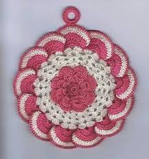 Crochet Home Decor Patterns Free 25 Best Crochet Patterns Coaster Doily Hotpad Potholder