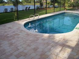 Cost Of A Paver Patio by Pool Pavers Remodel Your Pool Deck With Pavers From Paverweb Com