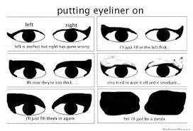 Eyeliner Meme - makeup on monday stila stay all day waterproof liquid eyeliner