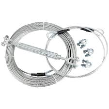 ctsc 95 foot zip line cable kit for kids with brake and seat bat