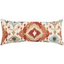 home decorators outdoor pillows home decorators collection alessandro spiceberry long outdoor