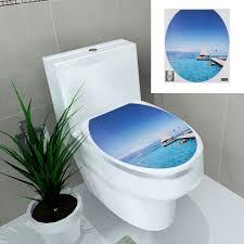 pvc toilet seat sticker waterproof removable wall sticker poster pvc toilet seat sticker waterproof removable wall sticker