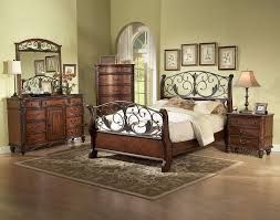 metal bedroom furniture wood and metal bedroom furniture best decor things