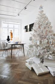 white trees decorated white tree with and
