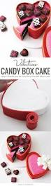 How To Decorate Heart Shaped Cake Valentine U0027s Heart Candy Box Cake Boxed Cake Candy Boxes And