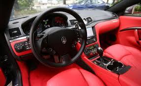red maserati spyder 2013 car picker maserati granturismo sport interior images