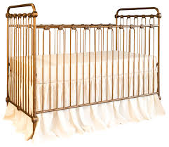 Bratt Decor Crib Joy Baby Crib Vintage Gold Traditional Cribs By Bratt Decor Inc