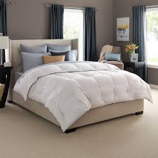 bedroom white blanket mattress with down alternative comforter